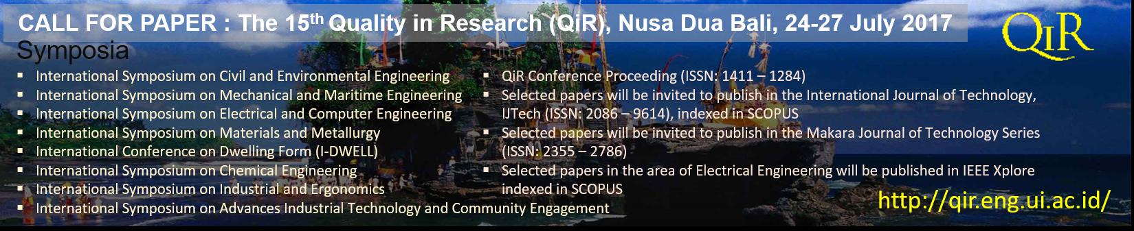 Poster QiR